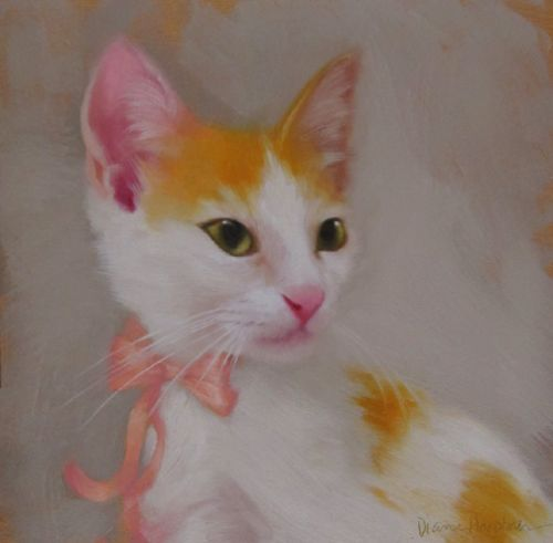 Penny a new cat painting