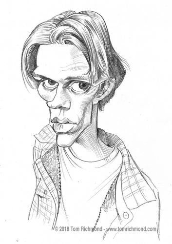 Sketch o'the Week- Bill Skarsgård!
