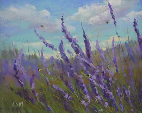 Painting Provence part 2 .Bring on the Lavender!