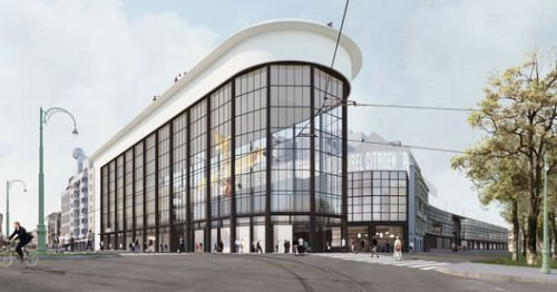"""Former Citroën Factory to be Converted Into Brussels """"Centre Pompidou"""""""