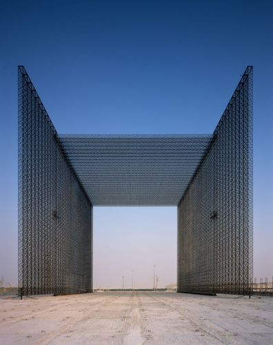 "Asif Khan Imagines the Expo 2020 Dubai ""Mashrabiya"" Entry Portals"