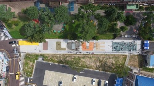 MVRDV Collaborates With School Children to Complete Graphic Public Play Space for Gwangju Folly Festival