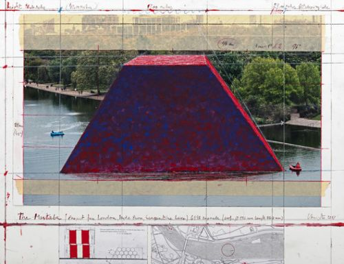 7,500 Barrels To Feature in Christo's First UK Outdoor Public Sculpture