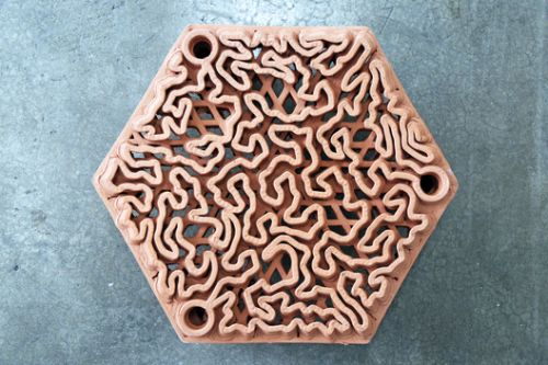 Rethinking Artificial Reef Structures through 3D Clay Printing