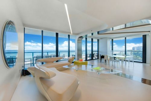 Dame Zaha Hadid's Private Miami Residence Sold by Sotheby's