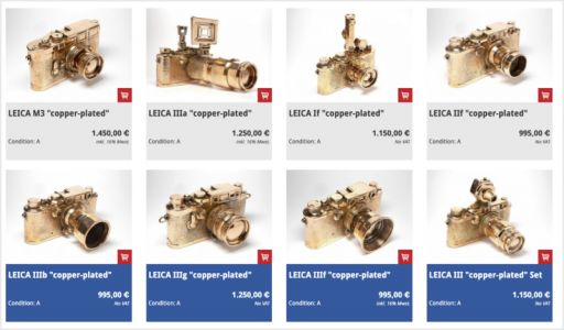 This Camera Store is Selling 'Copper Plated' Leica Cameras as Art Pieces