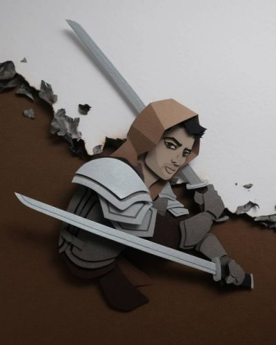 Paper 3d Illustrations by John Ed de VeraJohn Ed de Vera is a
