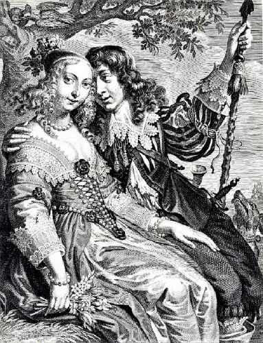 1660 Allegory of Spring- In a Garden