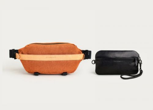 Moment Expands Into Camera Bags with a Fanny Sling and Crossbody Wallet