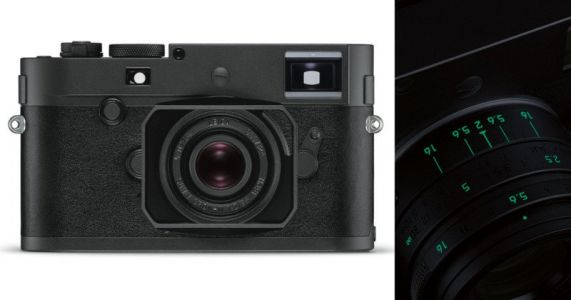 Leica M Monochrom 'Stealth Edition' is Matte Black and Glow-in-the-Dark
