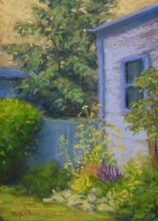 Garden by the Shed, 7x5