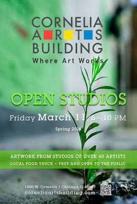 Cornelia Arts Building March 11 2016 Open Studios Event