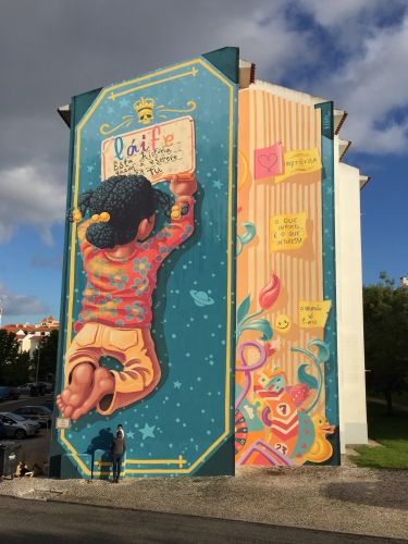 """Book of Life"" by Mario Belem in Cascais, Portugal"