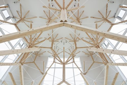 A National Park-Inspired Chapel Composed of Branching Fractals by Yu Momeoda