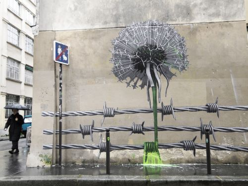 """Blow Up the Outside World"" & ""Manneken-Pissed"" by Ludo in Paris"