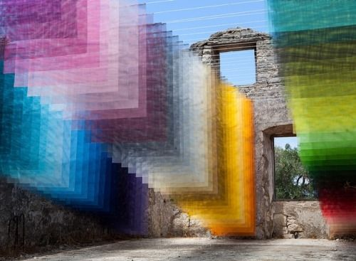 Colorful Installations by Quintessenz Together, the Hanover and