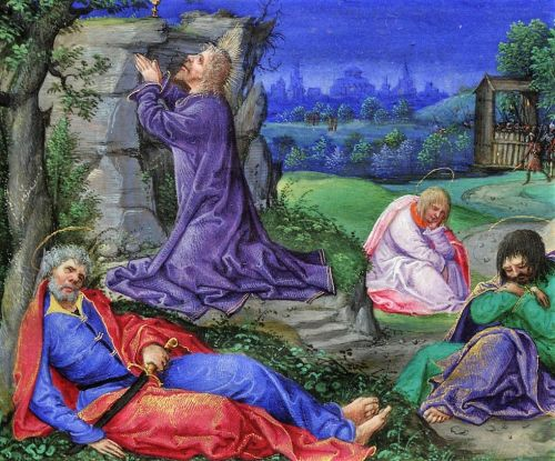 Lent - Jesus & The Garden of Gethsemane - Illustrated Manuscript