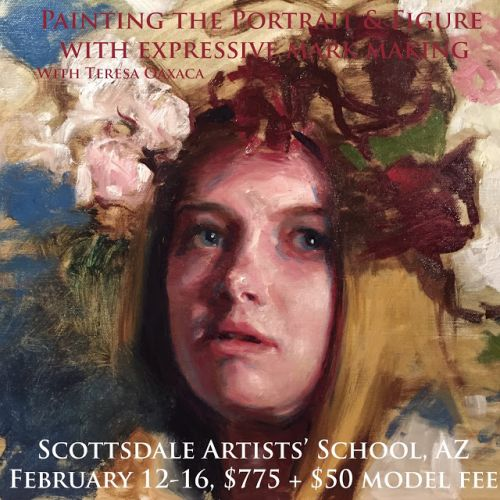 Portrait & Figure Painting Workshop at the Scottsdale Artists' School