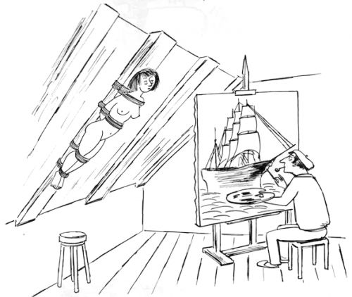 Anatol Kovarsky's Cartoons About Art