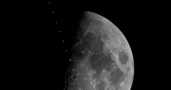 How to Shoot the ISS Flying Across the Face of the Moon