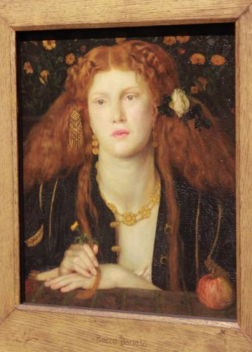 The Pre-Raphaelites at the Legion of Honor, SF