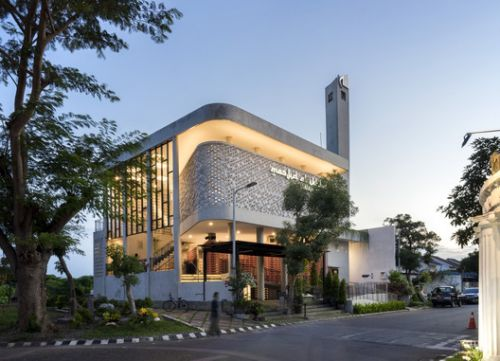 Honeycomb Mosque / Andy Rahman