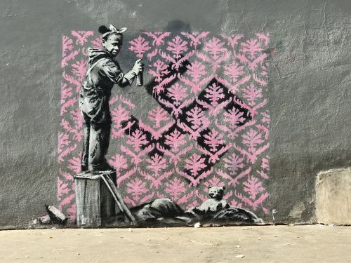 Banksy Hits Paris with Sharp Political Criticism and Several Mischievous Rats