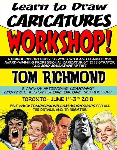 Still One Spot Open in Toronto Workshop, Other News