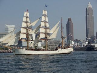 Let's Sketch The Tall Ships in Cleveland