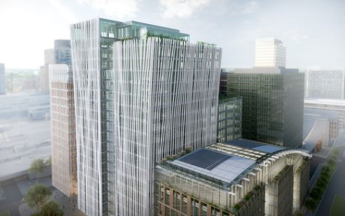 PLP Begins Construction on Tower Ten Expansion to Amsterdam's World Trade Center