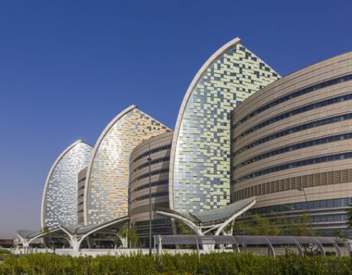 Sidra Medical and Research Center / Pelli Clarke Pelli Architects