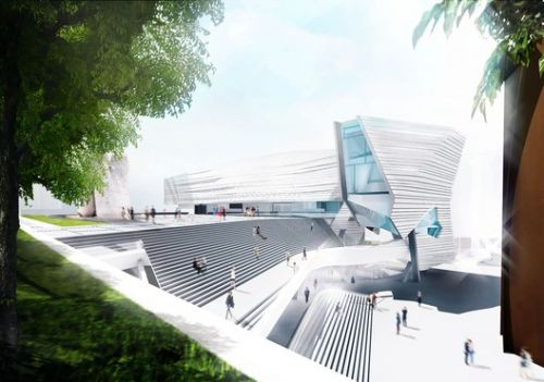 Morphosis Releases Images of Proposed Orange County Museum of Art in California