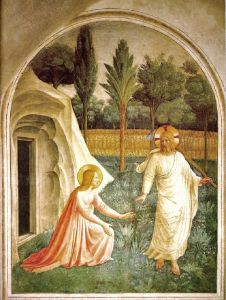 After the Resurrection - Jesus as a Gardener - Noli Me Tangere