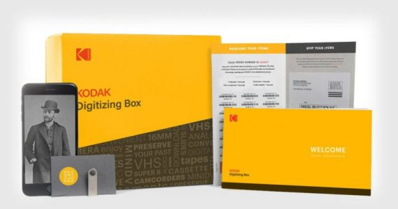 Kodak's New Digitizing Box is a Simple Way to Bulk Digitize Film and Prints