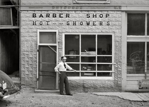 Shave and a Shower: 1940