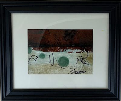 "Expressionism, Contemporary Painting, Framed Abstract Art, ""Explore"" by Texas Contemporary Artist Sharon Whisnand"