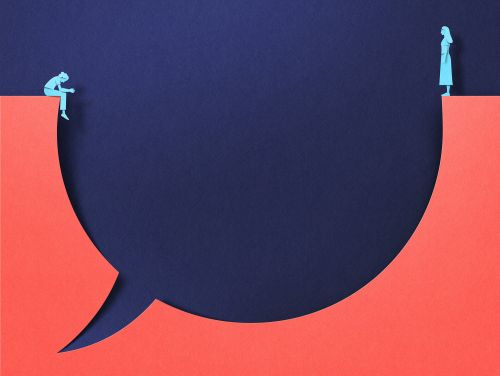 Complex Societal Issues Conveyed in Minimalist Editorial Illustrations by Eiko Ojala