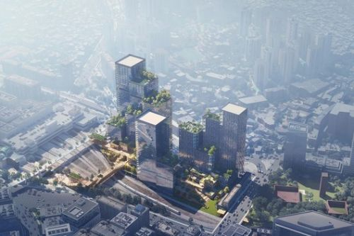 Henning Larsen Wins Competition for a Mixed-use Development in South Korea