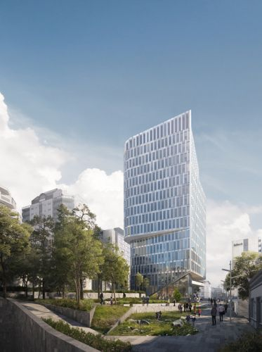 Schmidt Hammer Lassen's Mixed-Use K8 Tower in Norway Moves Forward