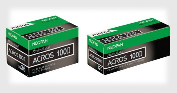Fujifilm NEOPAN 100 ACROS II Arriving Nov. 22 in 35mm and 120 Formats