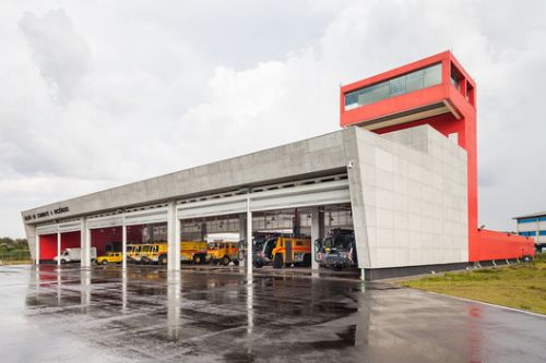 Guarulhos Airport Fire Department / MM18 Arquitetura