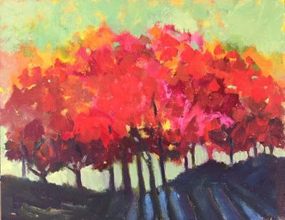 "Contemporary Trees, ""Daybreak,"" by Amy Whitehouse"
