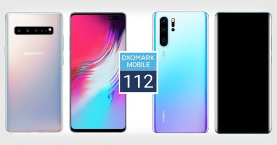 Samsung Galaxy S10 5G Ties Huawei P30 Pro for 1 at DxOMark