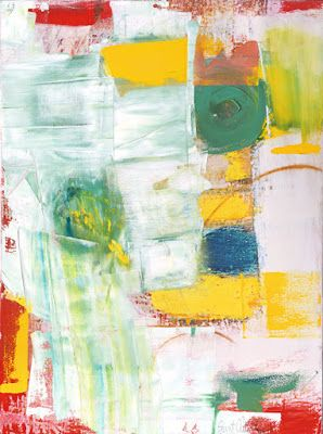 "Contemporary Art, Abstract,Expressionism, Studio 9 Fine Art ""King of Wishful Thinking"" by International Abstract Artist Amanda Saint Claire"