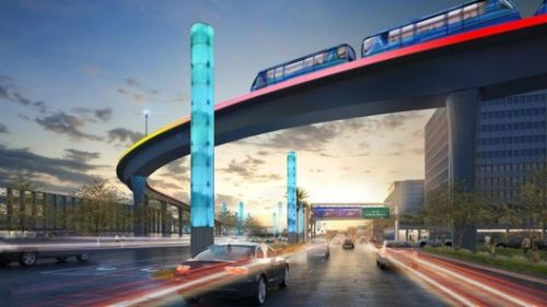 LAX Breaks Ground on its New People Mover