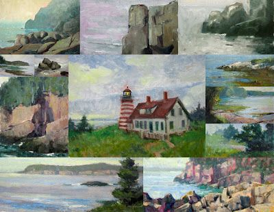 Some New Small Plein Air Paintings for Sale