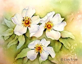 Journal - Dog Roses - Lin Frye