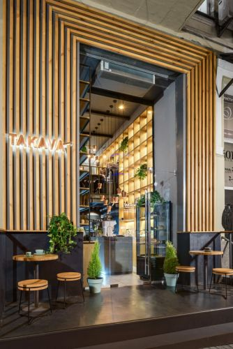 TAKAVA coffee-buffet / YUDIN Design