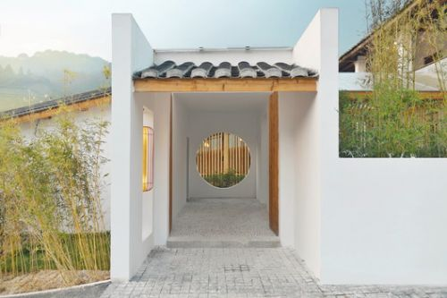 The Reception of Jiufeng Village / Rural Culture D-R-C