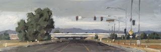 ROAD, FREEWAY, LANDSCAPE by TOM BROWN